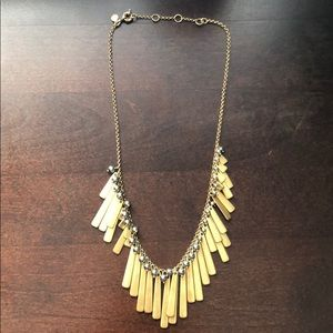 NWOT J.crew two tone necklace. Never worn.